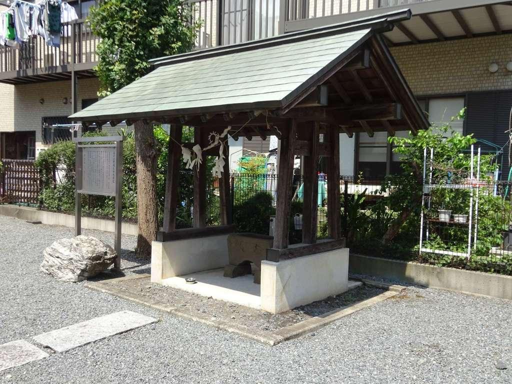 谷口山野稲荷神社の手水