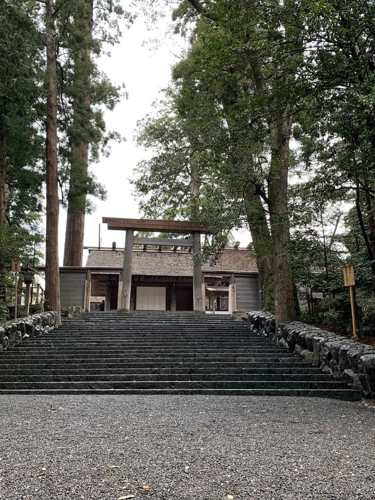 伊勢神宮内宮(皇大神宮)の本殿