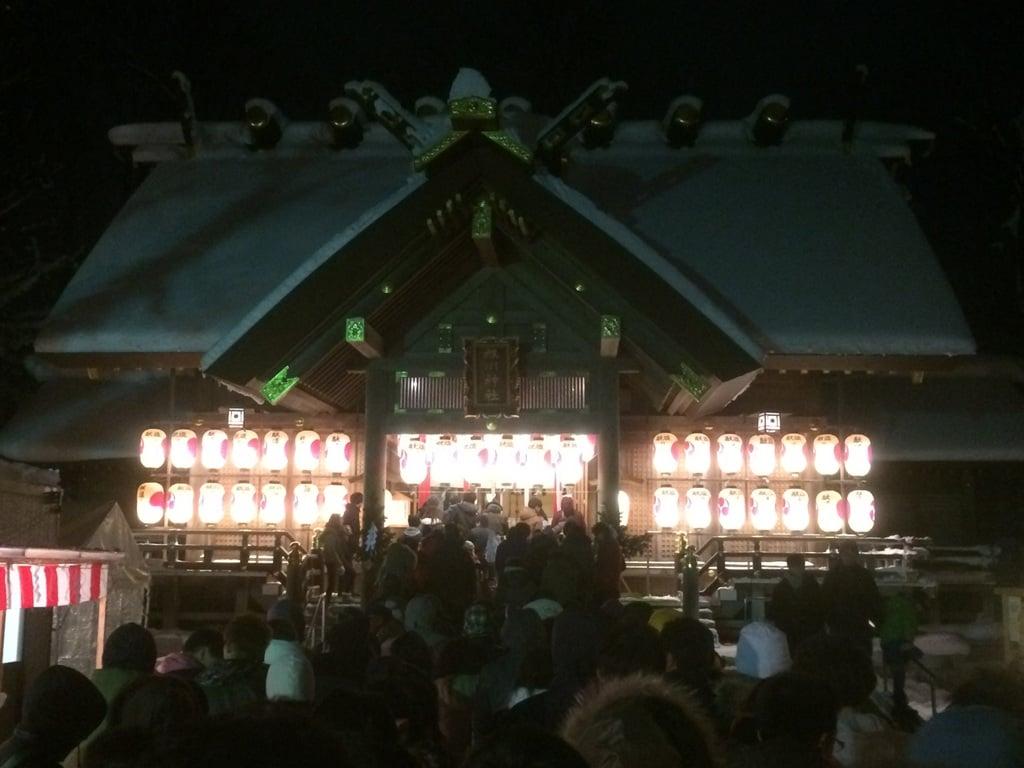旭川神社の初詣