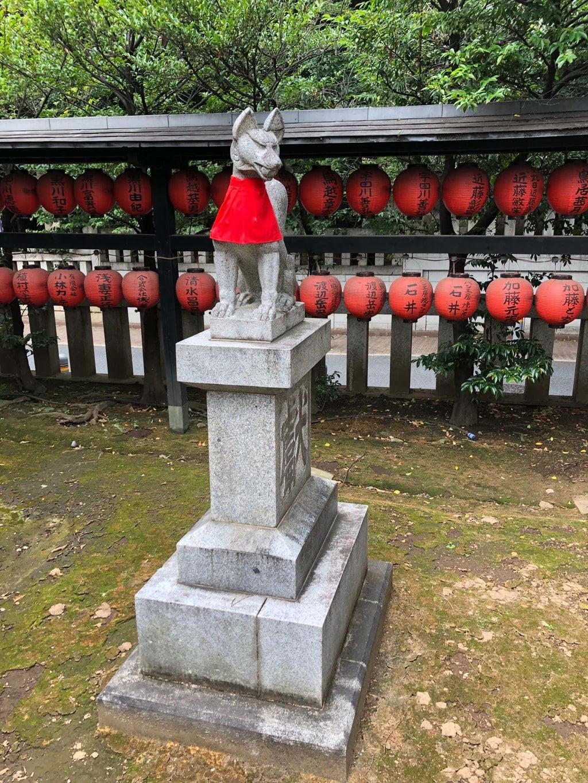 豊栄稲荷神社の狛犬