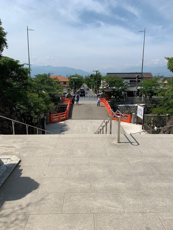 武田神社の景色