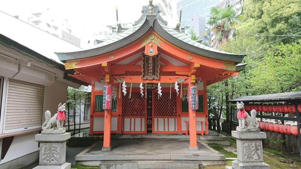 豊栄稲荷神社の本殿