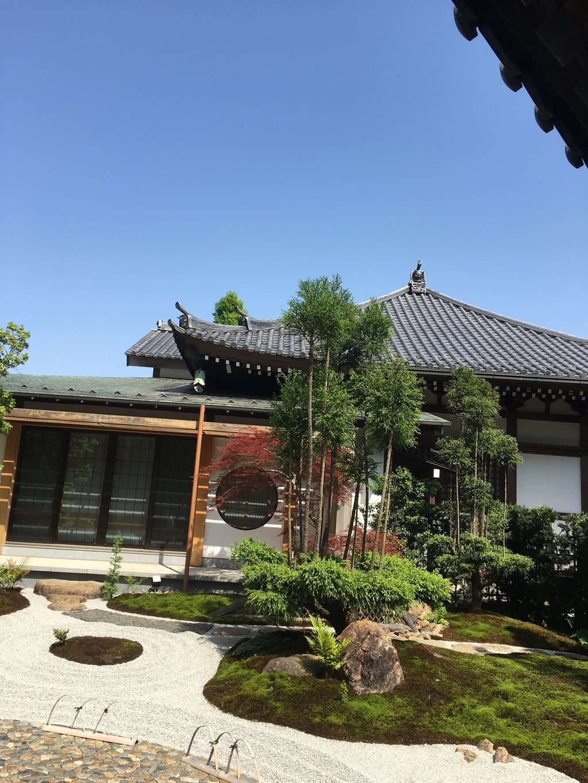 長谷寺の庭園