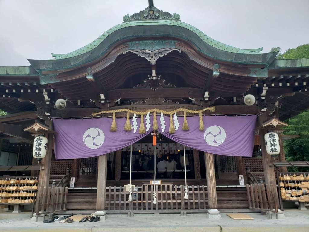唐津神社の本殿
