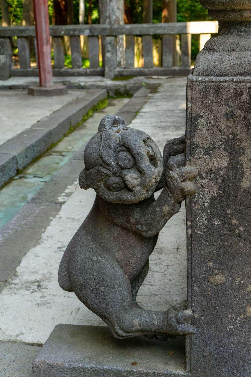 岩木山神社の狛犬