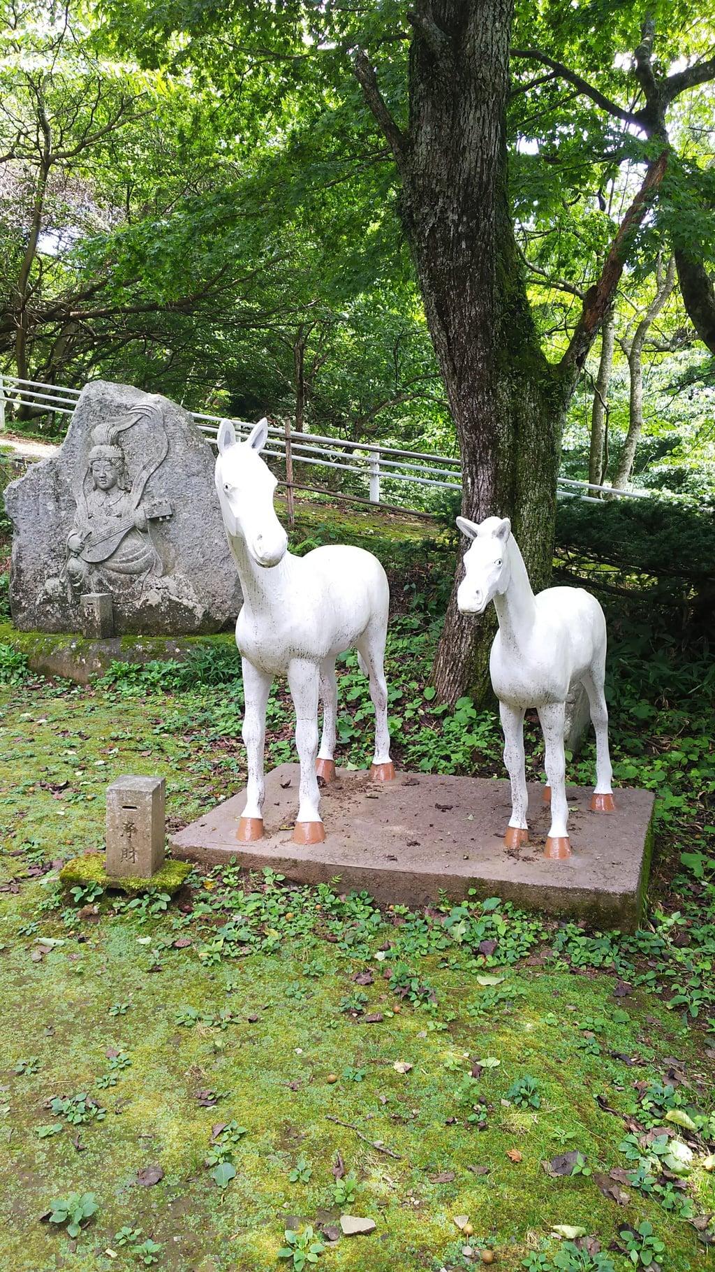 日輪寺の狛犬