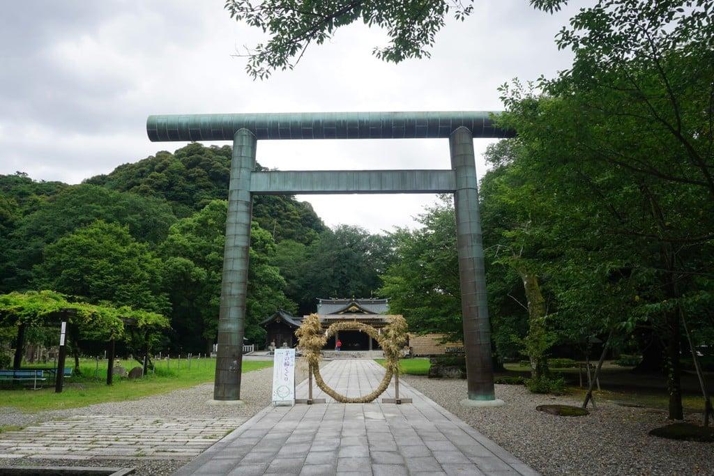 岐阜護国神社の鳥居