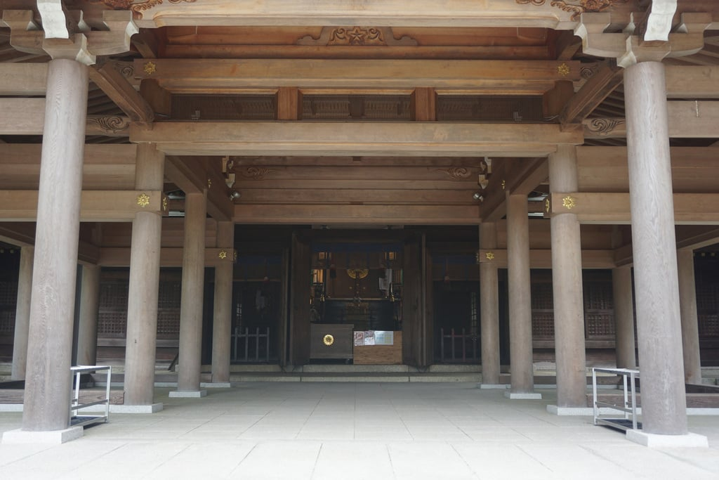 岐阜護国神社の本殿