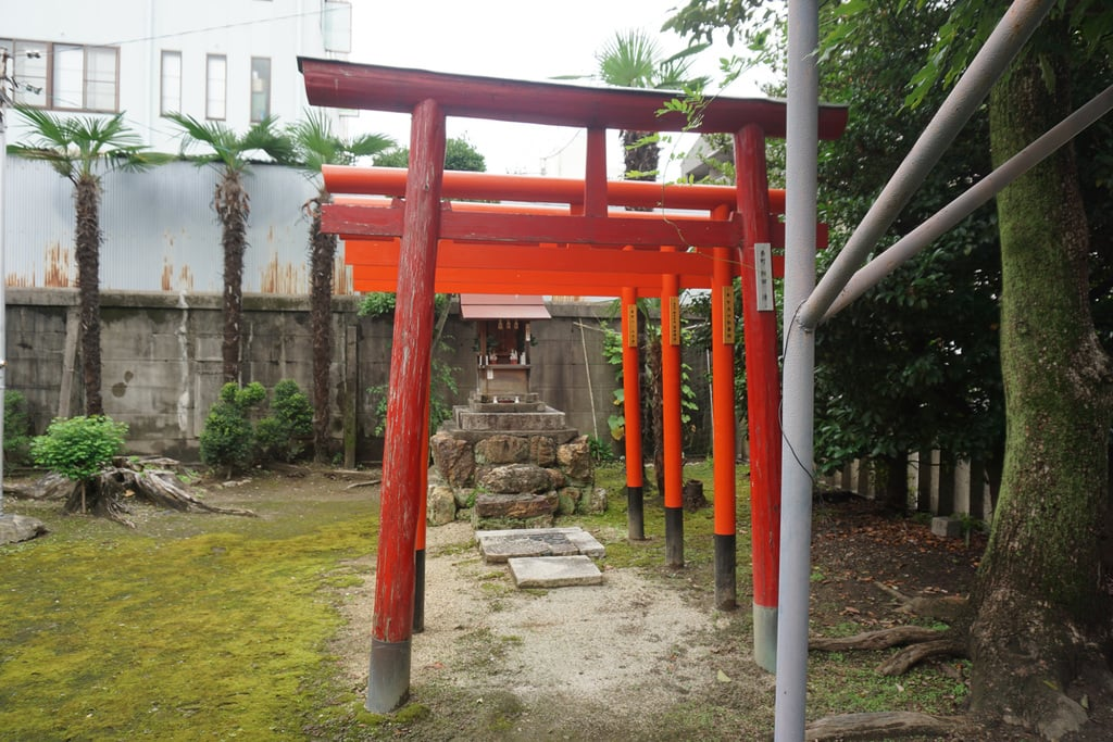縣神社の鳥居