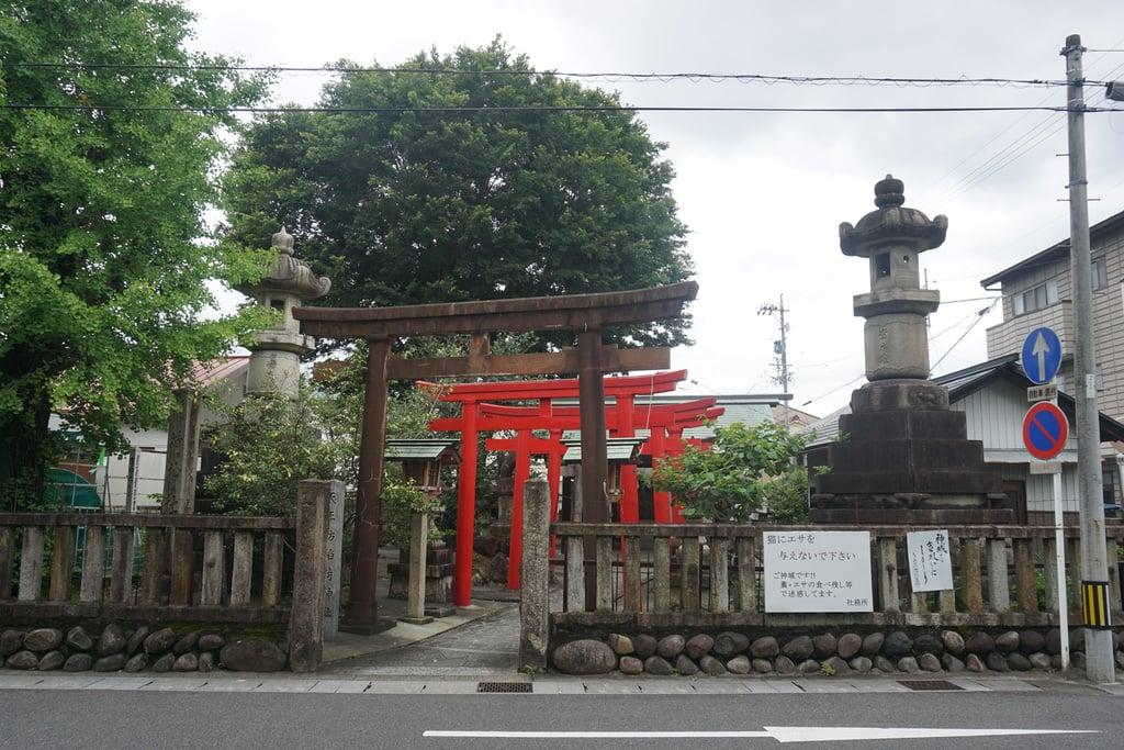 天王坊稲荷神社の鳥居