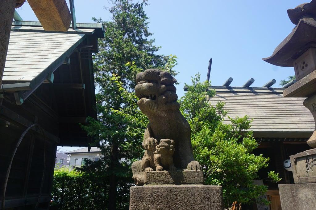 寒川神社の狛犬