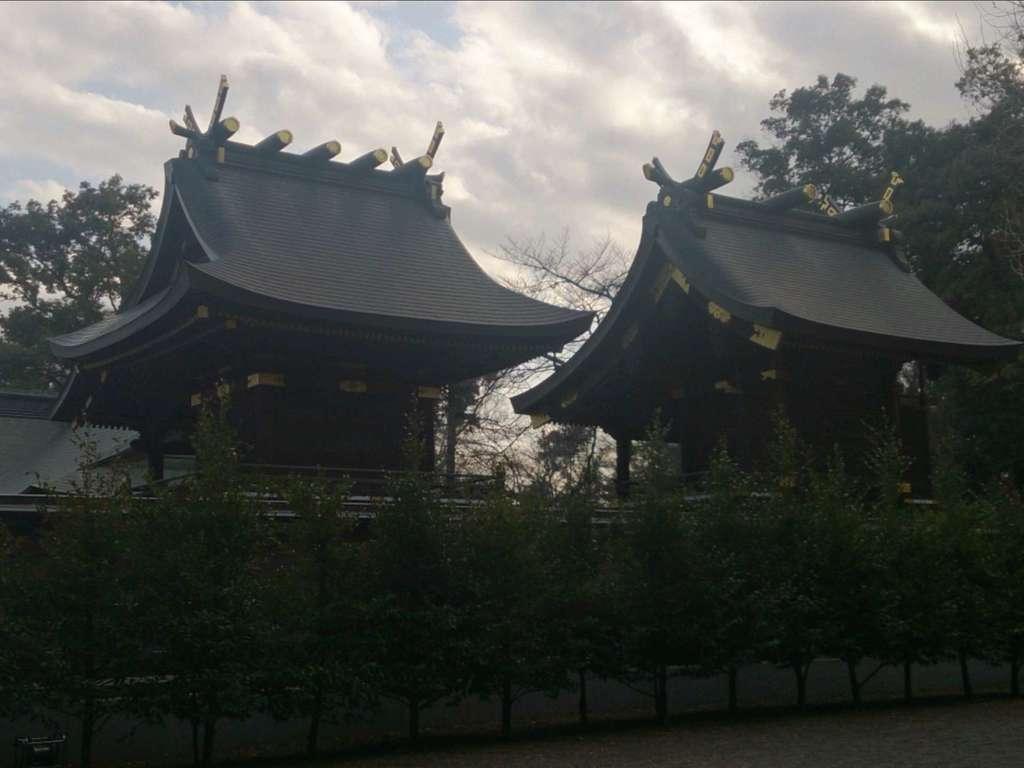 鷲宮神社の本殿