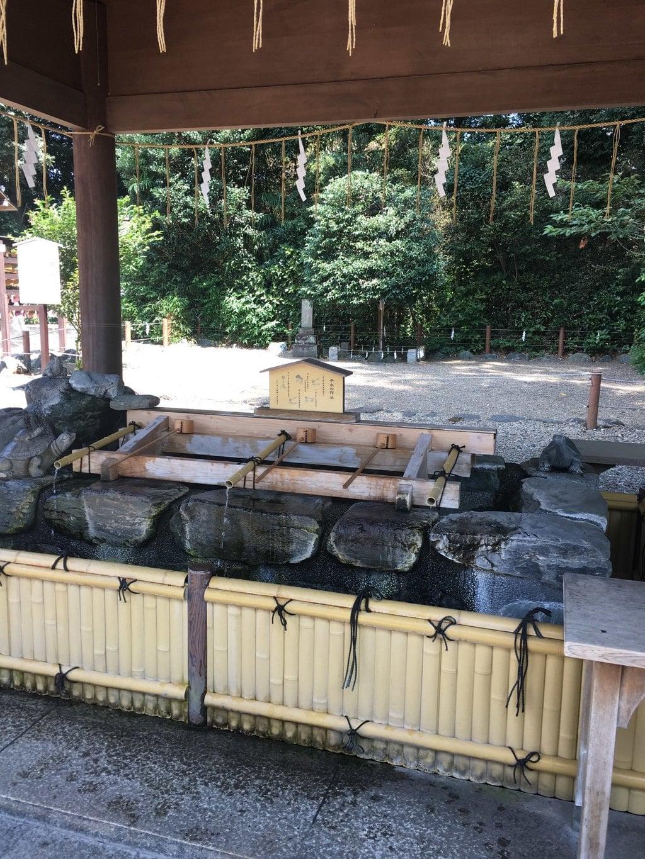 櫻木神社の手水