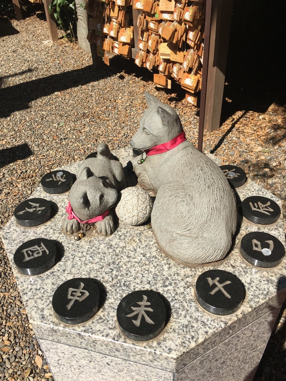 久伊豆神社の狛犬
