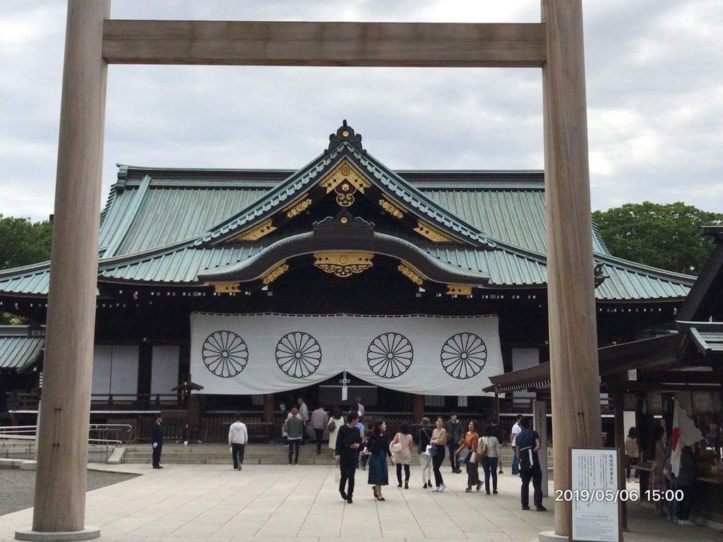 靖国神社の本殿