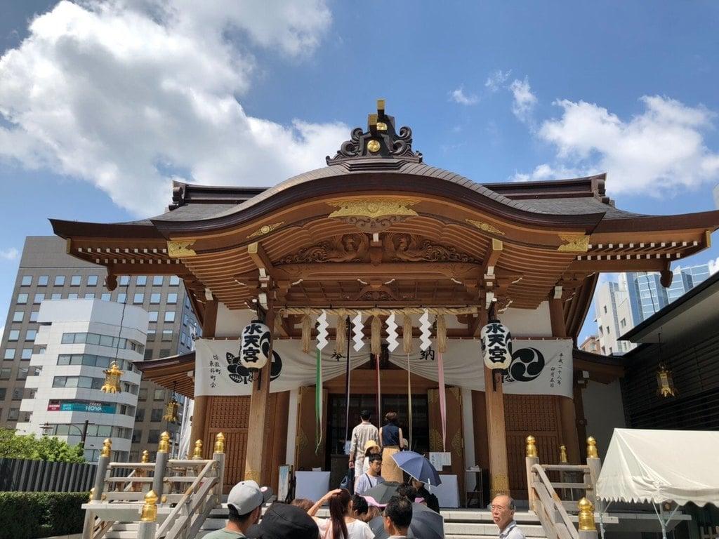 水天宮の本殿