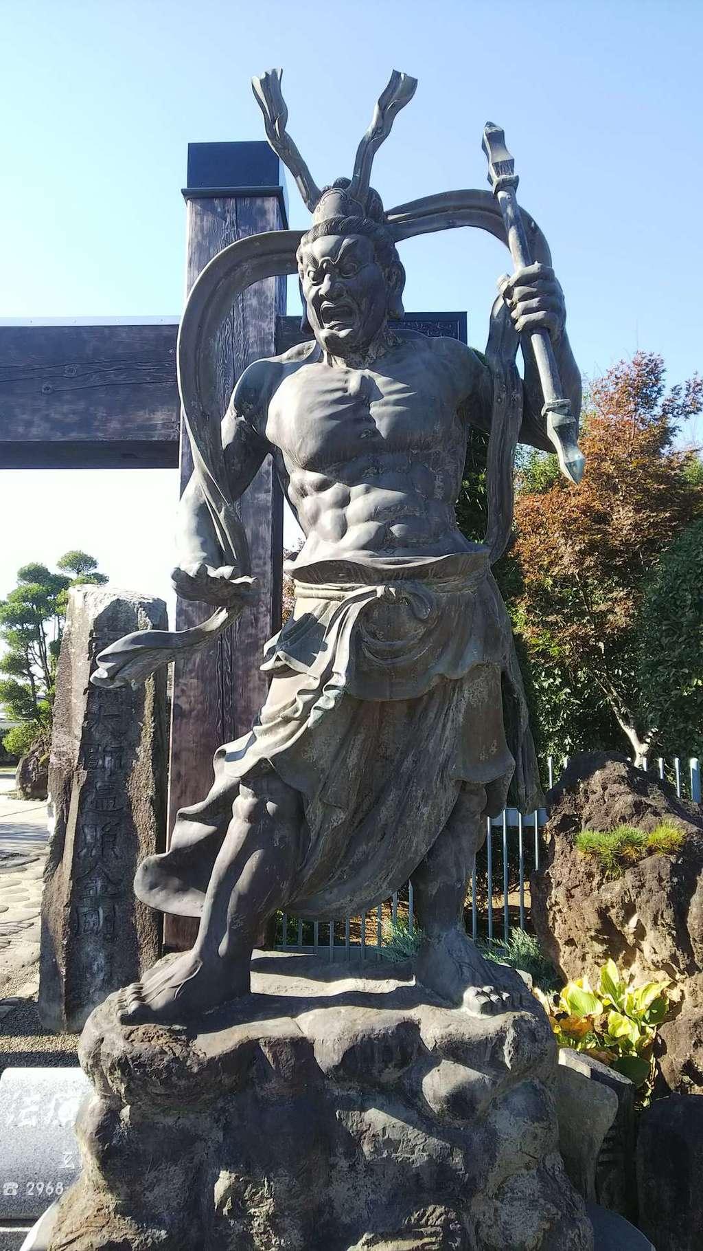 玄祥院の像