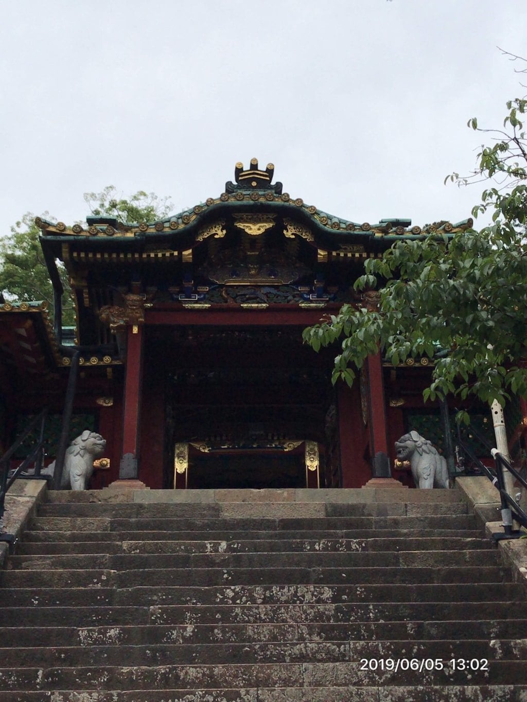 久能山東照宮の山門