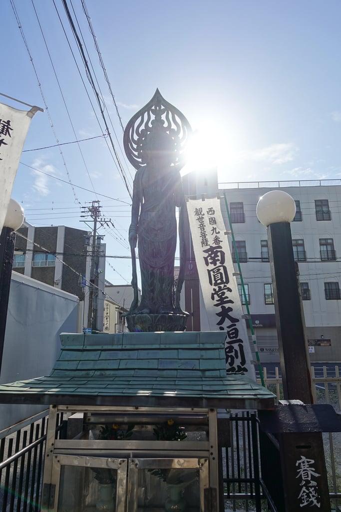 興福寺南円堂別院の仏像