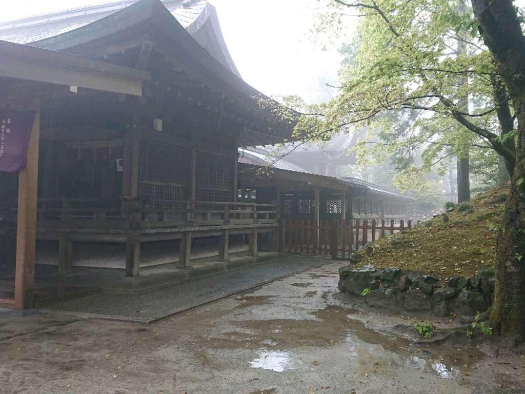 唐澤山神社の本殿