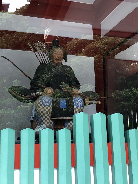 日枝神社の像