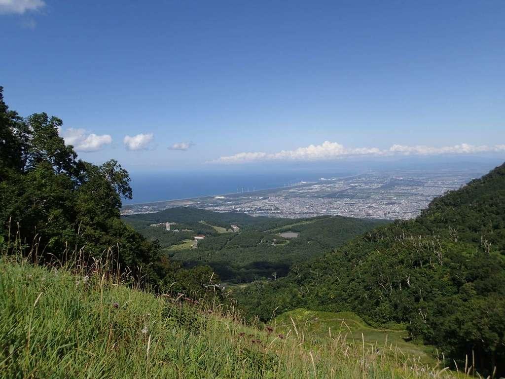 手稲神社の景色
