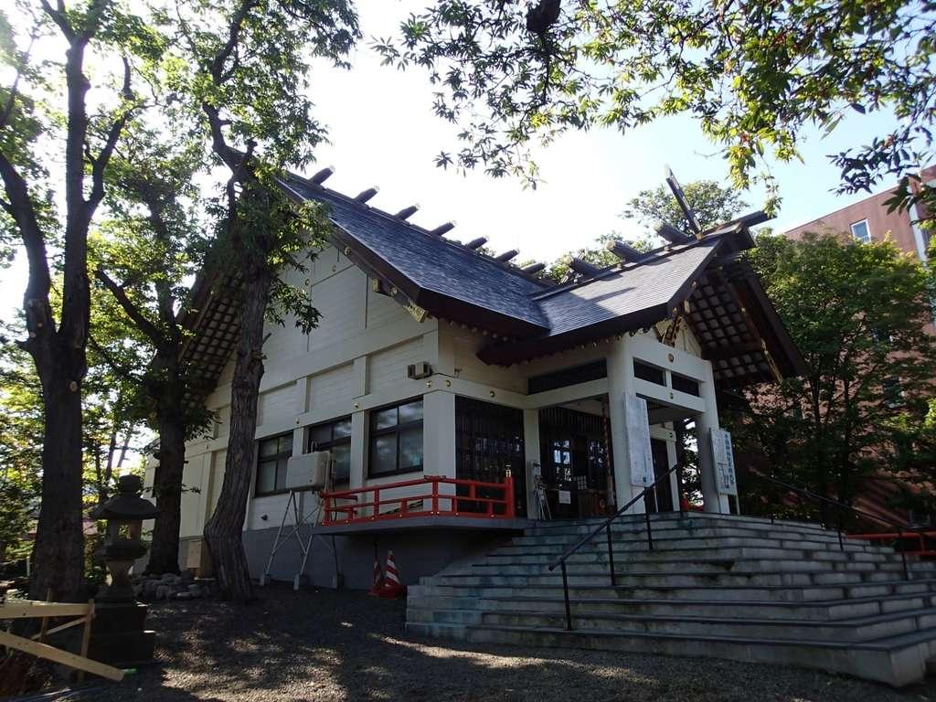手稲神社の本殿