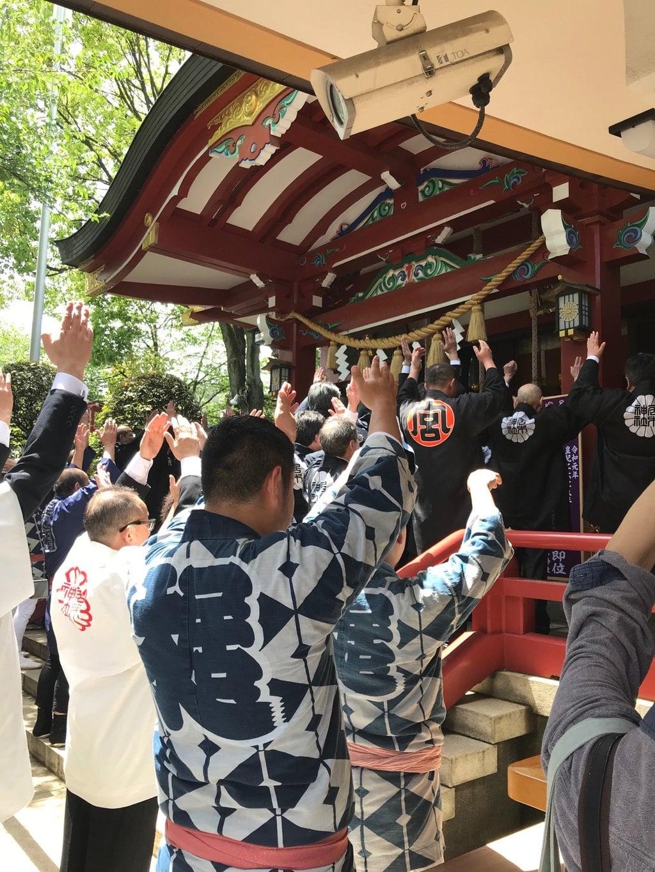 居木神社のお祭り
