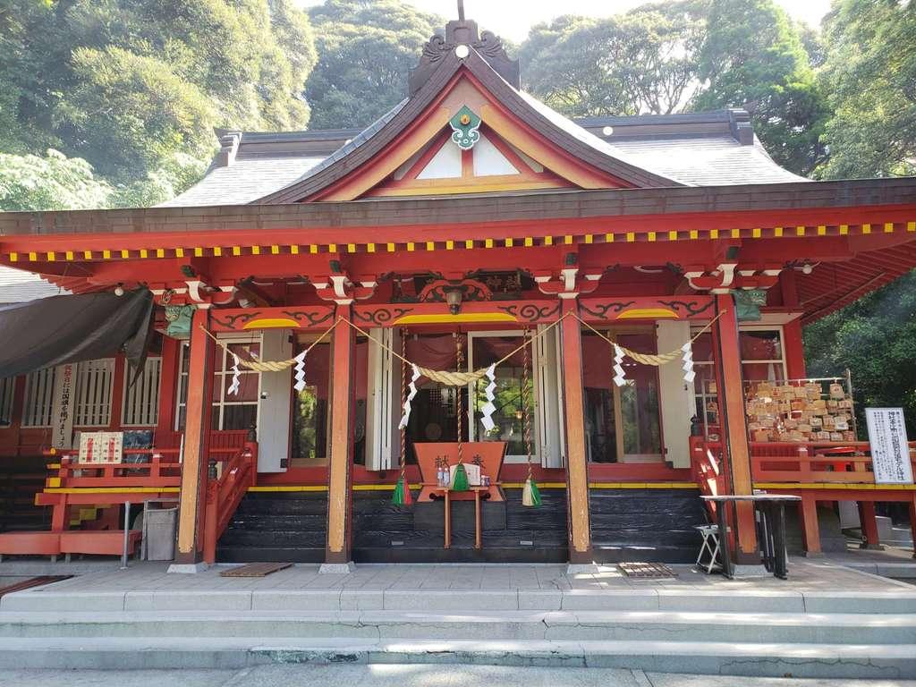 豊玉姫神社の本殿