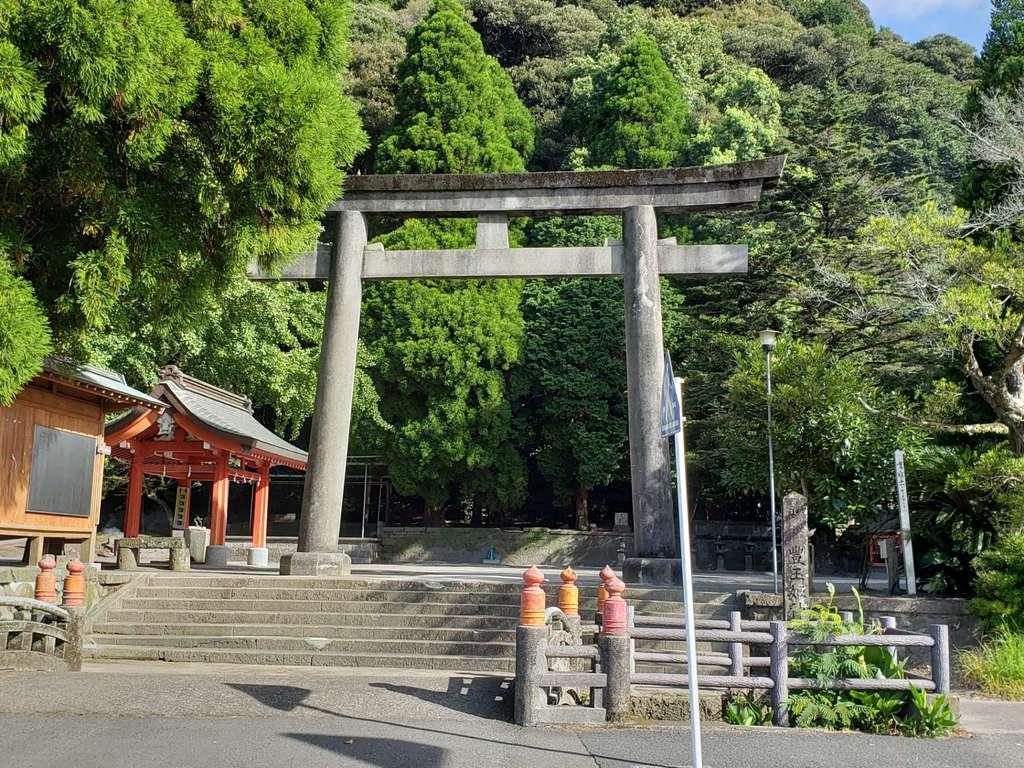 豊玉姫神社の鳥居