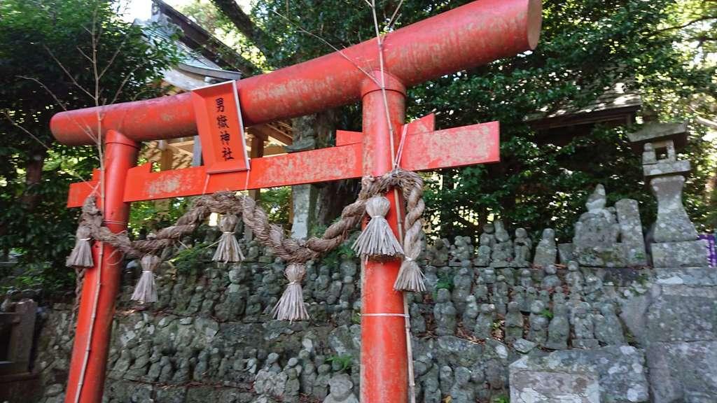 男嶽神社の鳥居