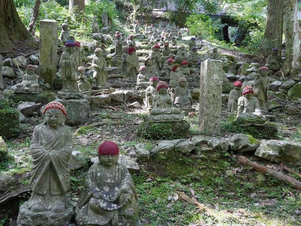 方廣寺の地蔵