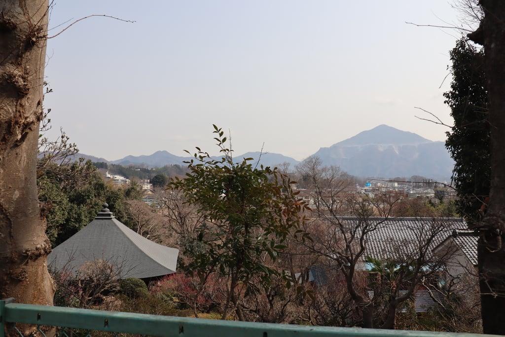 法王山 岩之上堂の景色