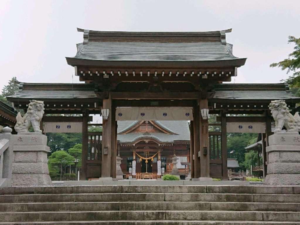 白鷺神社の山門