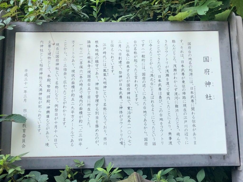 國府神社の歴史