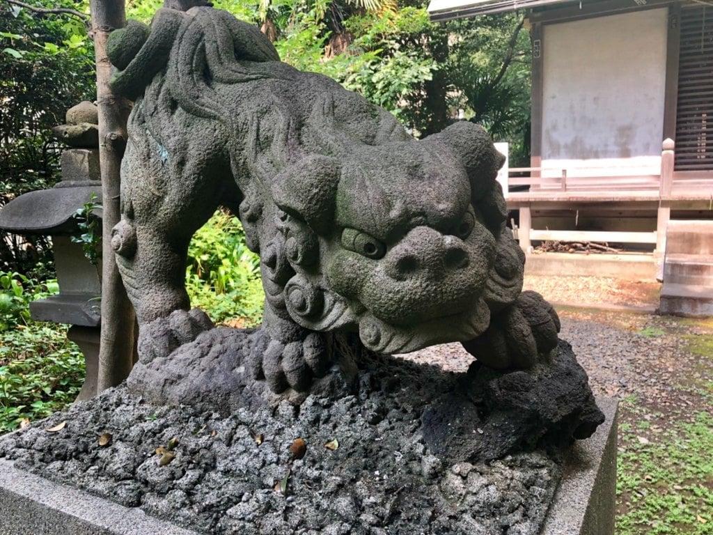 國府神社の狛犬