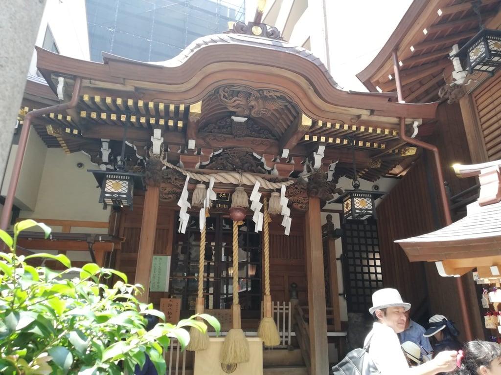 小網神社の本殿