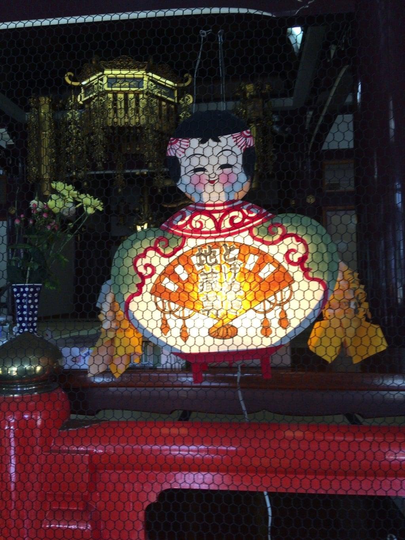 とげぬき地蔵尊 高岩寺の像