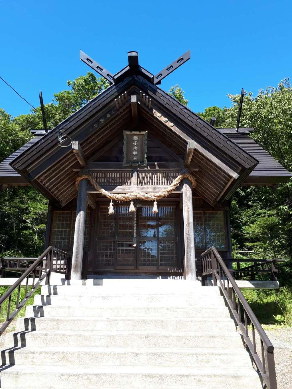 獅子内神社の本殿