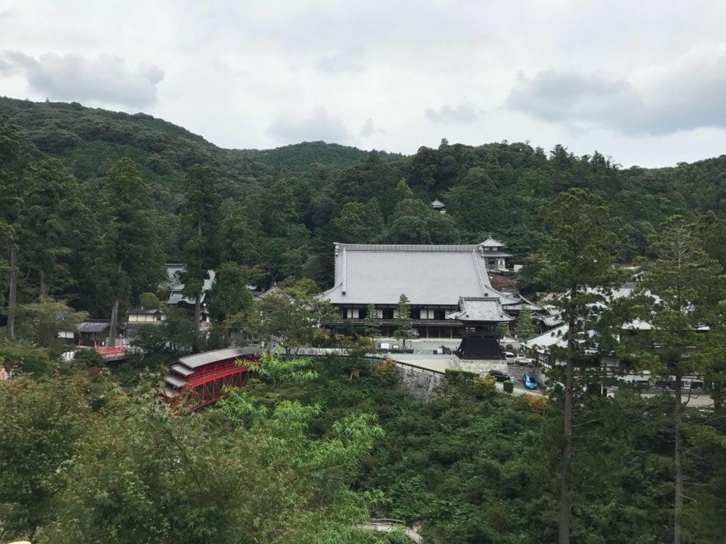 方廣寺の景色