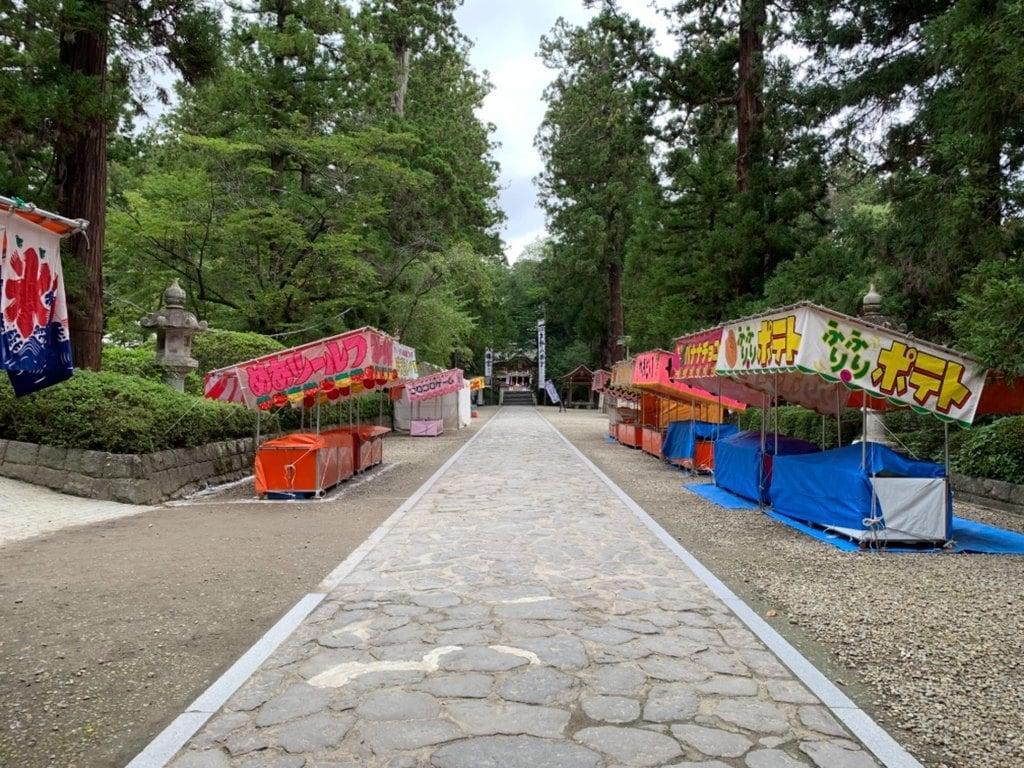 大崎八幡宮の庭園