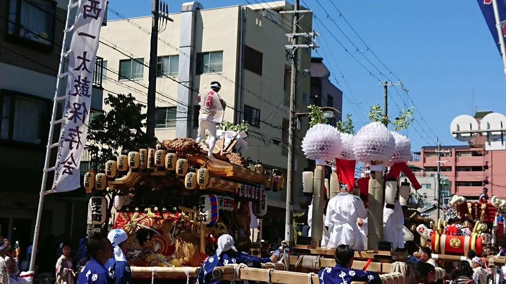 姫嶋神社のお祭り