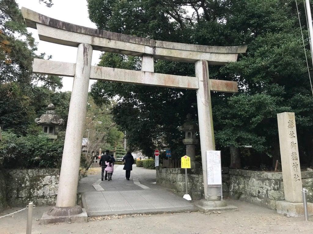 御穂神社の鳥居