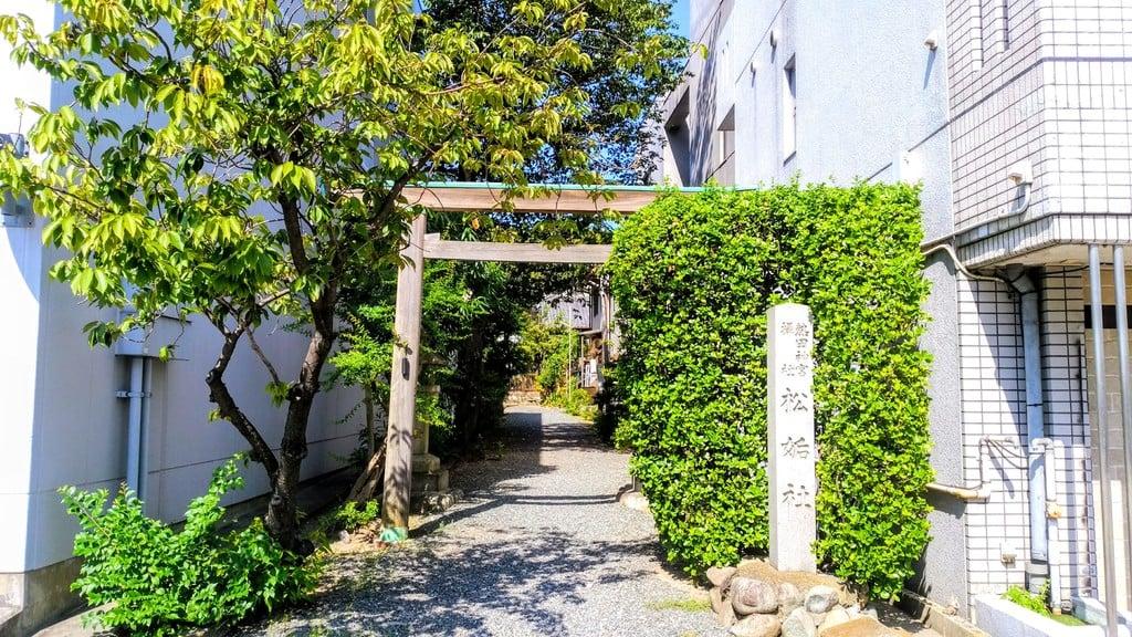松姤社(熱田神宮摂社)の鳥居