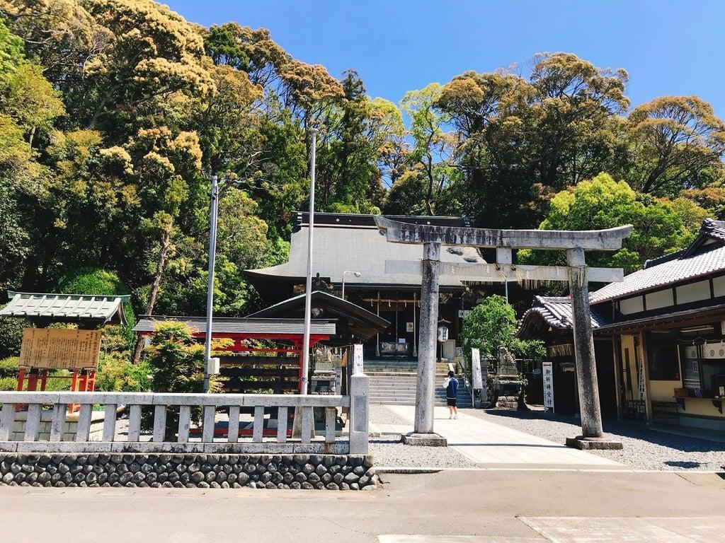 飽波神社の鳥居