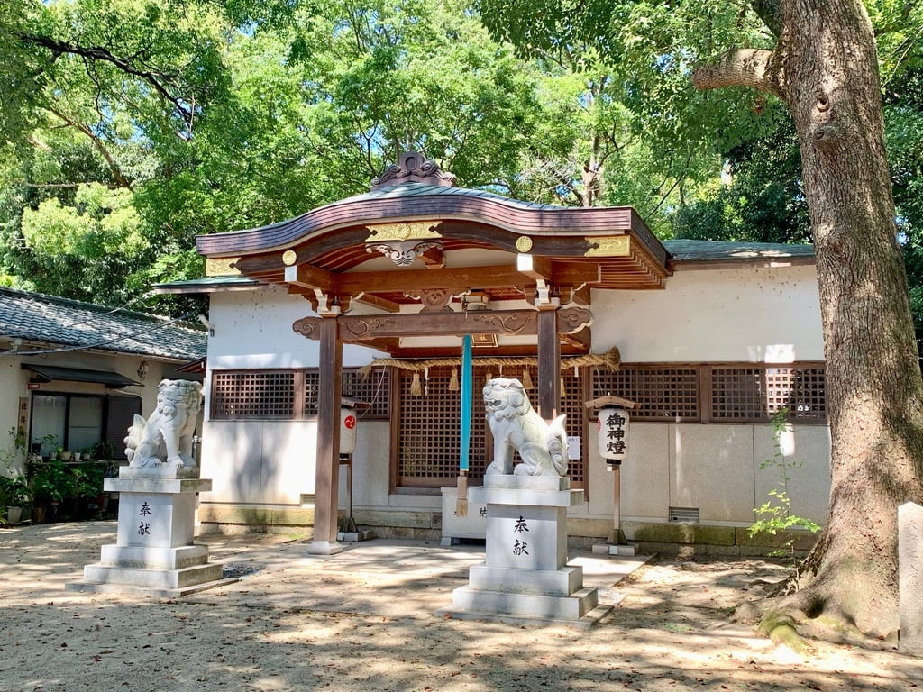 蔵人素盞嗚神社の本殿