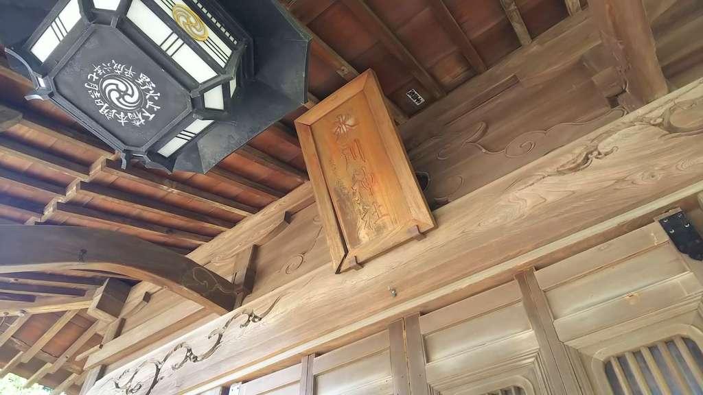 野火止氷川神社の本殿