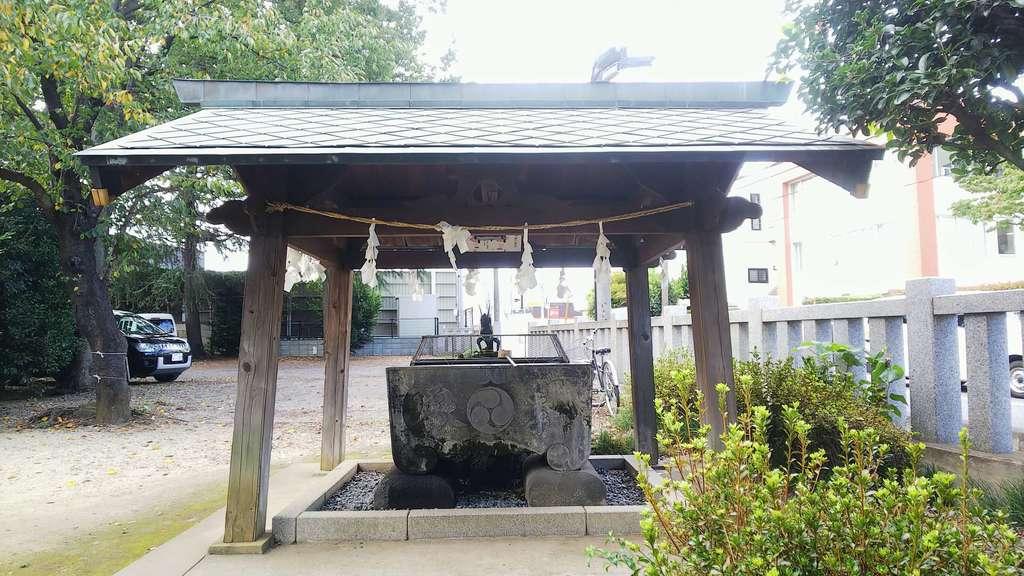 野火止氷川神社の手水