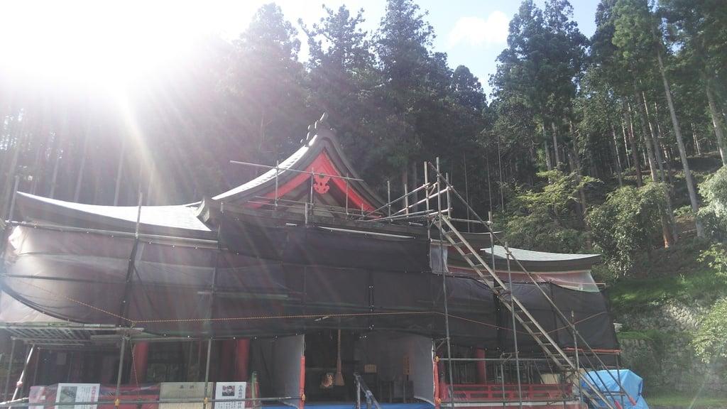 金櫻神社の本殿