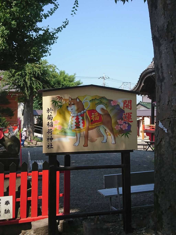 於菊稲荷神社の絵馬